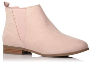 pink chelsea boot