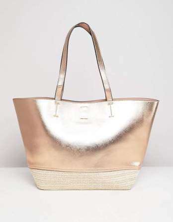 gold summer bag
