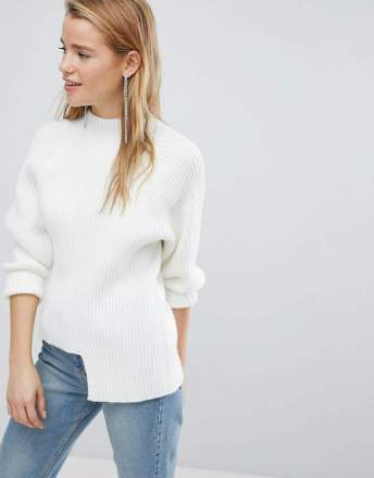 new look white jumper